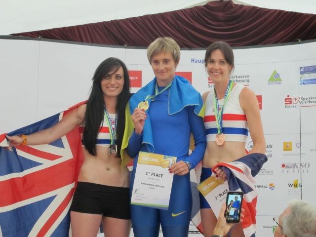 Гончарова Світлана-двухкратна чемпіонка 18-го Чемпіонату Європи біг 100