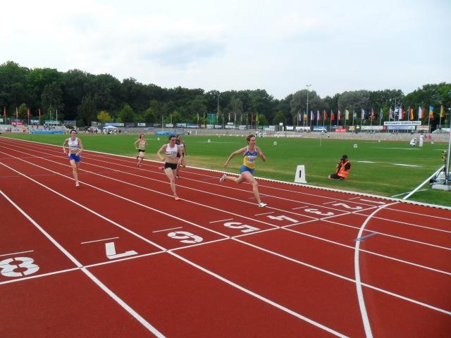 Золотий фініш на 200м Світлани Гончарової з м.Севастополь