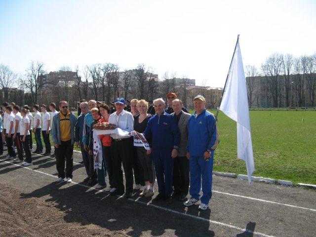 Змагання з легкоъ атлетики на Хмельничинні