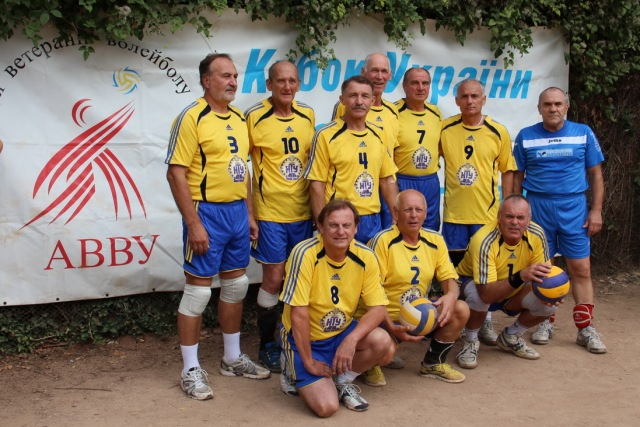 Постійний учасник змагань ветеранського волейболу та міжнародних турнірів команда «Зв»язківець» (60 +)