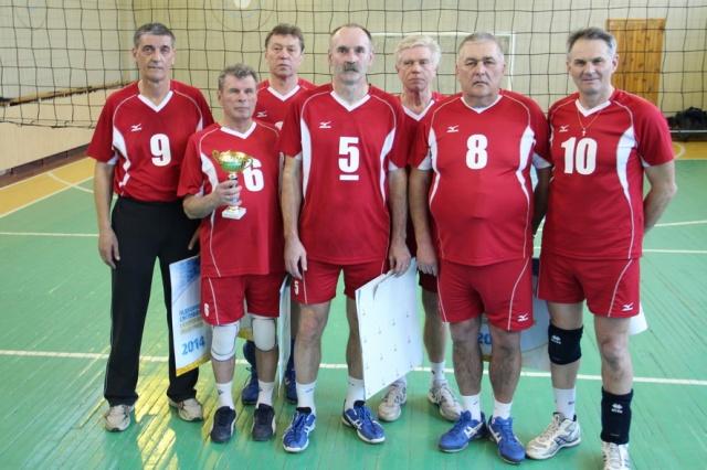 Переможець змагань в категорії 55 + команда КПМА «Київ»