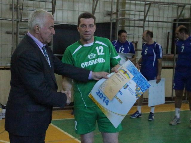 Кращий гравець команди «Оболонь-83» Віталій Чучмар