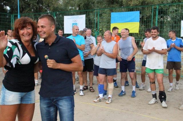 Приз «Чупа-чупс» наймолодшому гравцю турніру – В'ячеславу  Палій