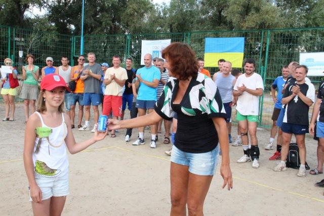 Приз найактивнішого  вболівальника отримала Ліза Клименко
