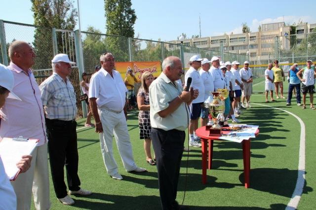 Добрі побажання учасникам Кубку від голови Березанської райдержадміністрації Володимира Требухи