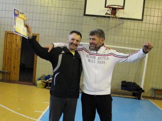 Грамота від Київського місцевого осередку ветеранів волейболу кращому гравцю команди «Фуршет» Сергію Іваницькому