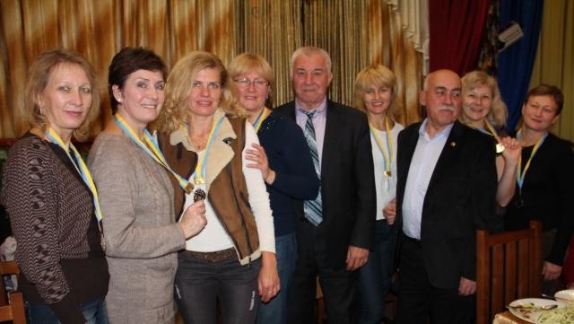 Срібні медалі турніру виборола жіноча команда з Харкова