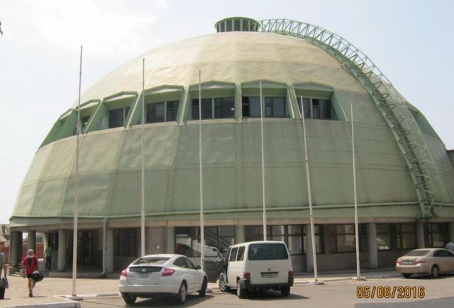 Спортивный зал Мариупольского государственного университета